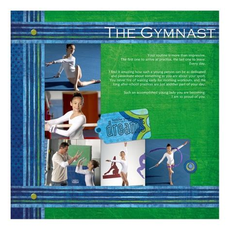 gymnastics scrapbook layout 17 best images about cm primary power palette on pinterest