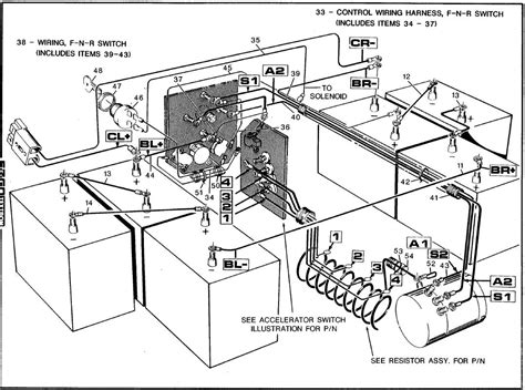 club car 48v battery wiring diagram wiring diagram and