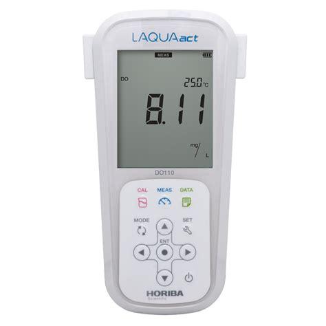 horiba laquaact 100 series portable dissolved oxygen meter