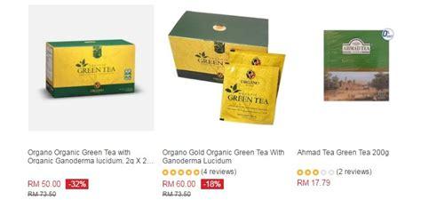 Satu Kotak Teh Hijau beli teh hijau diet kesihatan ecommerce in malaysia