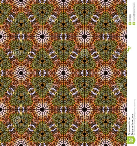 mosaic pattern on leaves royalty free stock photo seamless mosaic pattern in
