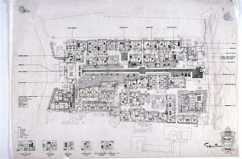 hotel layout drawing 1000 images about geoffrey bawa on pinterest site plans