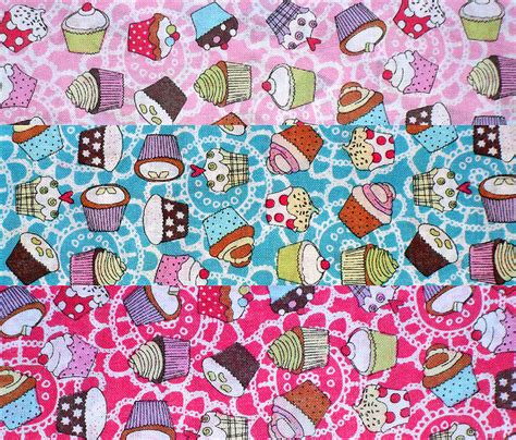 Print Photos On Fabric Quilting by 1m Mini Cupcake Print Cotton Fabric For Crafts Quilting