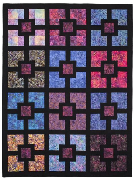 E Quilt Patterns by In The Wall Eleanor Burns Signature Pattern Quilt