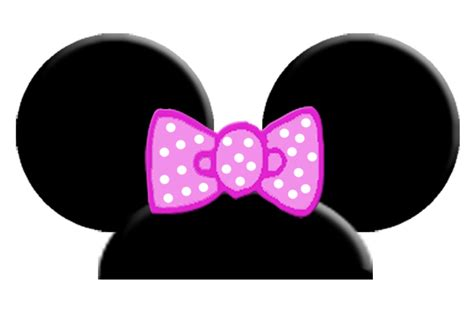 template for minnie mouse ears minnie mouse ears template clipart best