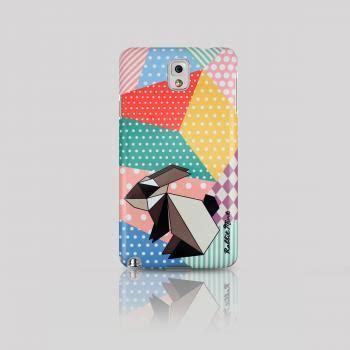 3d Plastic Samsung Galaxy Note 3 73 samsung galaxy note 3 origami rabbit 00057 n3 on
