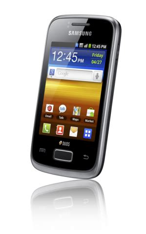Samsung Galaxy Y Dual Kamera samsung galaxy y duos android smartphone mit dual sim