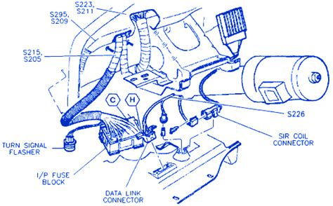buick lesabre  connector electrical circuit wiring diagram carfusebox
