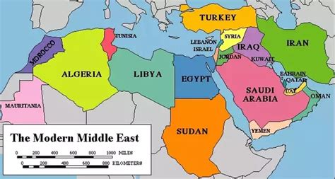 show me a map of the middle east what are the countries that constitute asia minor middle