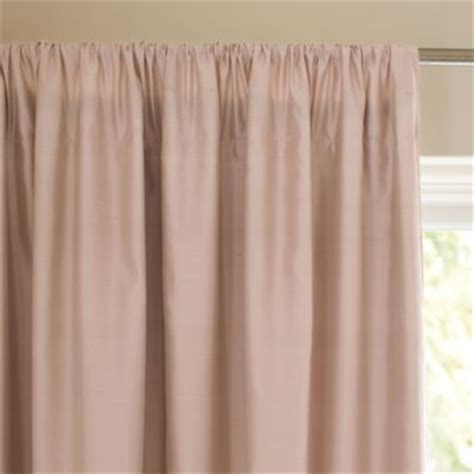 shantung silk curtains silk shantung window panel blush traditional curtains
