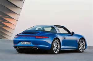 Porsche 911 Profile 2014 Porsche 911 Targa Rear Three Quarter Profile Photo 3