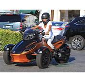 Jada Pinkett Smith Riding Out On Her 3 Wheeled Motorcycle  Zimbio