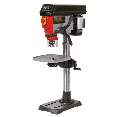 pillar bench drill sip 01432 20mm bench pillar drill