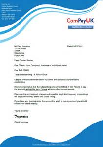 debt recovery letter before template free debt recovery