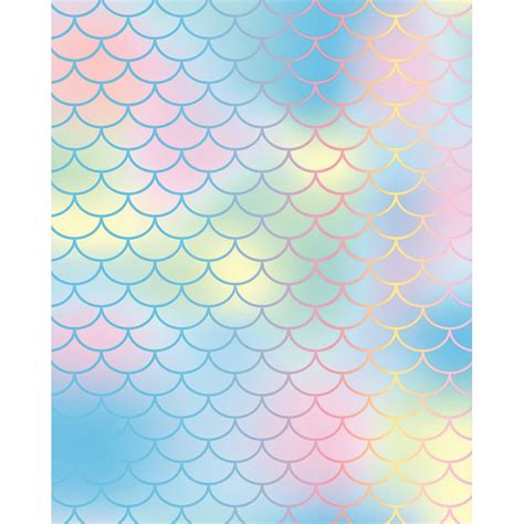 mermaid scales background pastel mermaid scales printed backdrop backdrop express