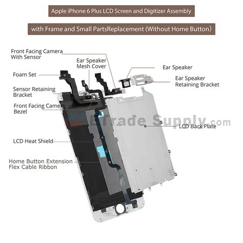 iphone 5s parts diagram electrical schematic