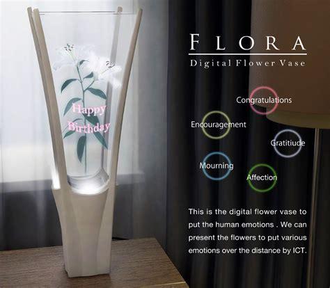 Vase Competition by Flora Digital Flower Vase By Yoshiki Matsuyama Fujitsu