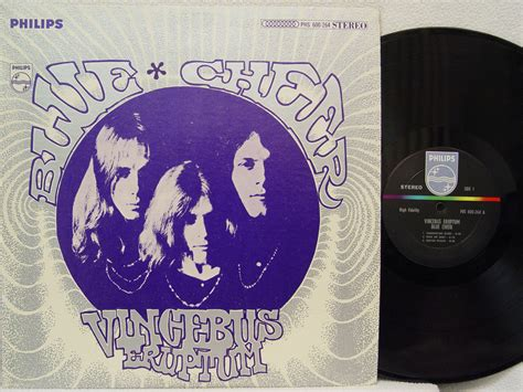 S184 Textured Blouse Tosca Import blue cheer vincebus eruptum records lps vinyl and cds
