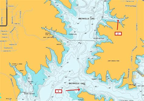 smithville lake map smithville last of weeks