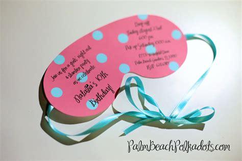 eye mask invitation template 10 spa sleepover birthday invitations eye mask