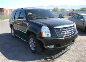 Damaged Cadillac Escalade For Sale Cadillac Escalade For Sale Salvage Auction Rebuildable