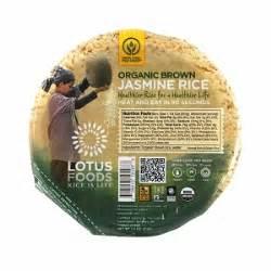 Lotus Foods Rice Lotus Foods Heat Serve Rice Bowls Brown
