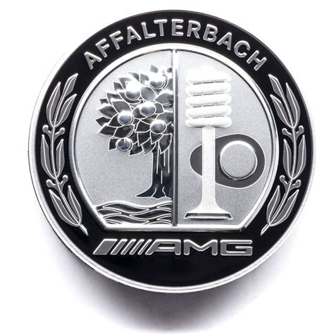 mercedes amg logo amg centre cap w amg logo set of 4 a0004003100