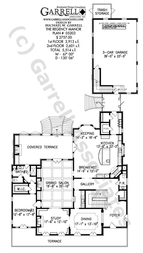 regency house plans regency manor house plan house plans by garrell associates inc