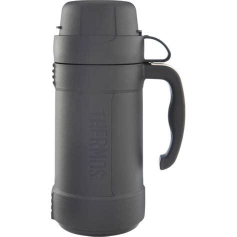 Thermos Bymax 500ml thermos eclipse glass vacuum flask 1 8l 1 0l 0 5l black ebay