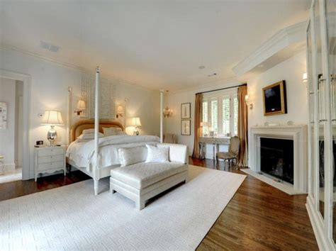Plantation Homes Interior Design White Bedroom Four Poster Bed