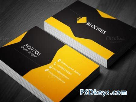 Cool Business Card Templates Photoshop by Creative Business Card Template 38164 187 Free