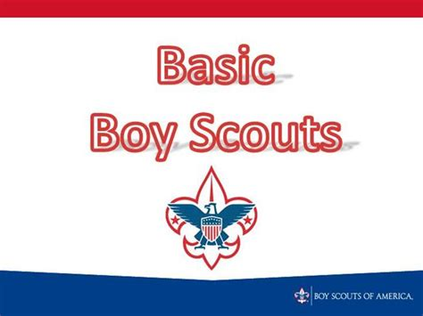 boy scout powerpoint template basic boy scouts authorstream