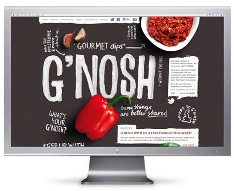 Fresh February Pop Nosh Linkage by Gourmet Dips Without The Fuss Mystery Ltd Brand