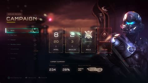 ui layout unit halo 5 ui concepts by ramiro galan 43 escape the level