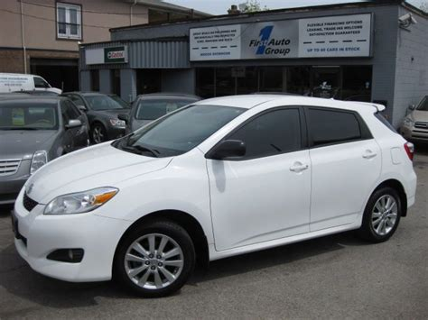 2010 Toyota Matrix S 2010 Toyota Matrix S Related Infomation Specifications