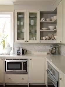Kitchen Shelves And Cabinets by Cream Kitchen Cabinets Design Ideas