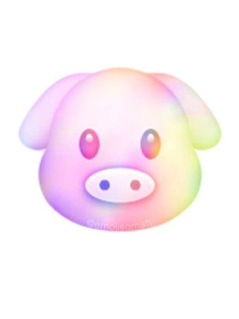 emoji pig wallpaper galaxy pig raremoji pinterest emojis