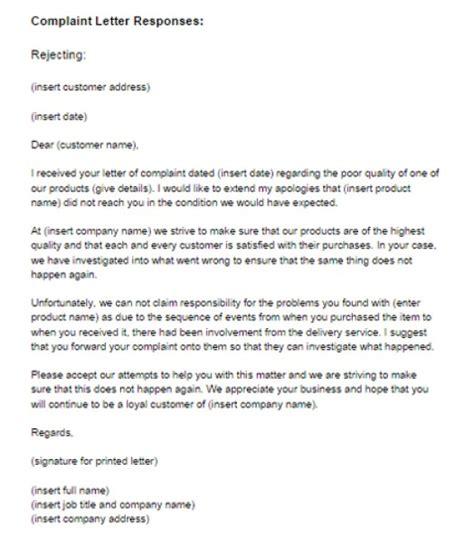response letter template 7 response letter sles sle letters word