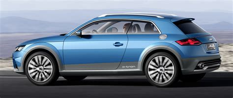 generation audi tt previewed  audi allroad shooting