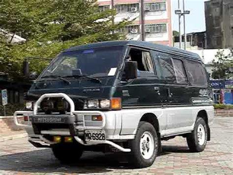 mitsubishi delica 4x4 1992 delica lhd 4x4 manual 138k video 1 youtube