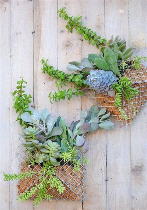 Diy Wall Planter by Easy Diy Project How To Make A Pocket Wall Planter