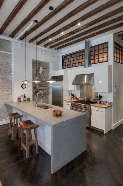 loft kitchen ideas reiko design blog before and after brooklyn loft
