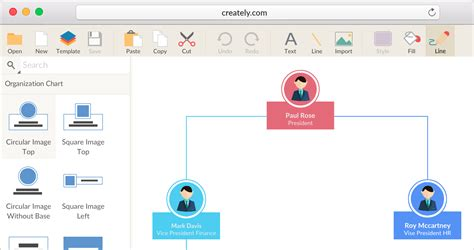 chart draw org chart software to create organization charts