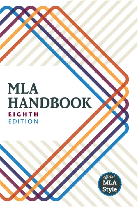 A Guide For The Profession 8e mla handbook eighth edition modern language association