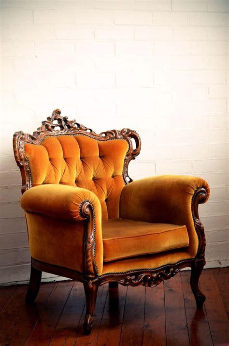 Hello Armchair by Vintage Gold Velvet Armchair House Shopping