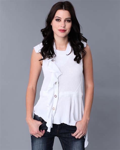 imagenes de blusas blancas juveniles blusas blancas elegantes imagui