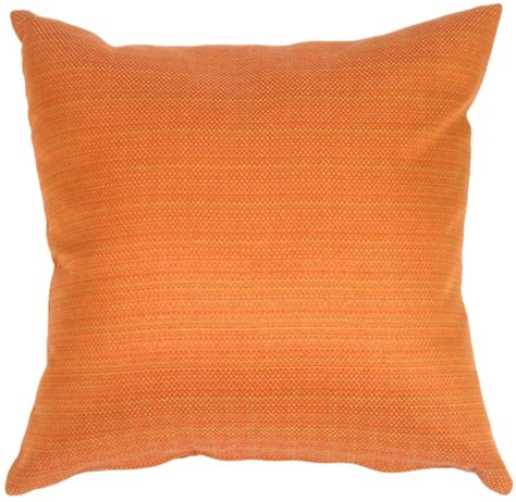 Orange Accent Pillow by Textures In Cinnamon Orange Accent Pillow From Pillow D 233 Cor