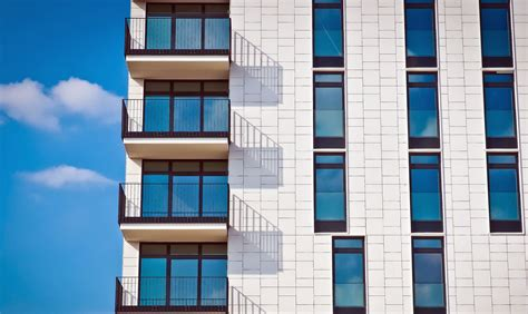 picture reflection sky urban windows apartment