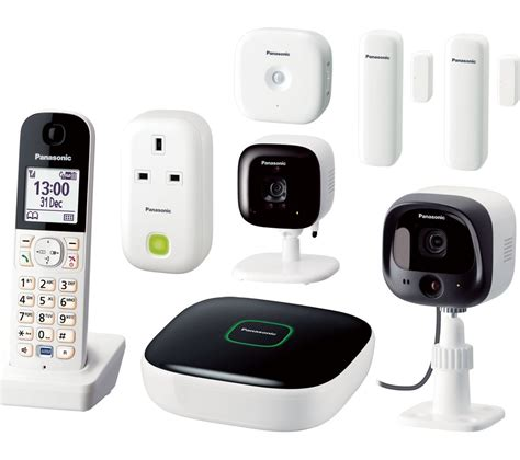 buy smart home products buy panasonic kx hn6031ew smart home premium kit free