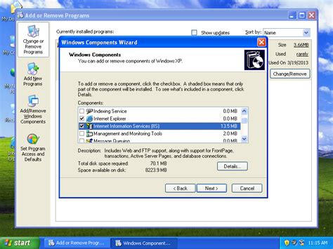 configure xp smpt how to install and configure iis in windows xp sp3